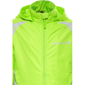 Endura Luminite II Jacket Kids hi-viz green/reflective